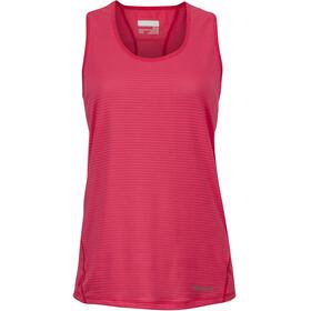 Marmot Aero Koszulka bez rękawów Kobiety czerwony